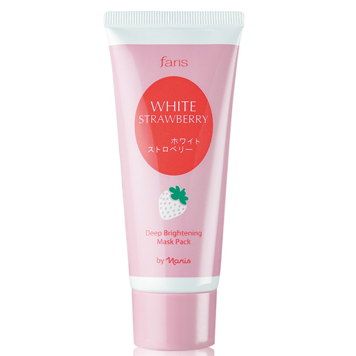 Faris White Strawberry Deep Brightening Mask Pack